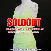 ナイキ(Nike) タイブレーク ニットタンク アザレンカ着用モデル リキッドライムグリーン
