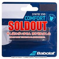 【厚さ2.1mmのウェットグリップ】バボラ(BabolaT) シンテックエヴォ ブラック リプレイスメントグリップテープ