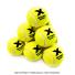 トレトン(Tretorn) マイクロエックス micro X ノンプレッシャー テニスボール 12個セット イエロー×イエローの画像1