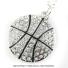 スポーツシリーズ:バスケットボール クリスタル ネックレスの画像1
