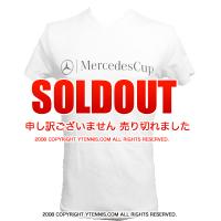 メルセデスカップ(Mercedes Cup)オフィシャル商品 MCロゴ Tシャツ メンズ ホワイト 国内未発売