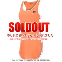 セール品 ロット(Lotto)アグニエシュカ・ラドワンスカ着用モデル シェラIII テニスドレス オレンジ 国内未発売モデル