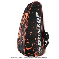 ダンロップ(Dunlop) 2016年モデル レボリューション(Revolution NT) テニスバッグ ラケット6本収納 オレンジ 国内未発売カラー ラケットバッグ