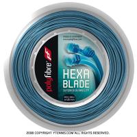 ポリファイバー(Polyfibre) ヘキサブレイド(Hexablade) ブルー 1.18mm/1.20mm/1.25mm 200mロール ポリエステルストリングス