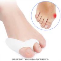シリコンパッド サポーター シリコンキャップ 両足セット 親指 足保護