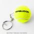 Wimbledon(ウィンブルドン) オフィシャル商品 スラセンジャー ミニテニスボールキーリング イエロー 全英オープンテニスの画像2