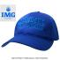 IMG(ニック・ボロテリー テニスアカデミー) オフィシャル アセンダーキャップ ブルーの画像1