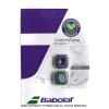 バボラ(Babolat) カスタムダンプ ウィンブルドン限定パッケージ パープル/グリーン ダンプナー