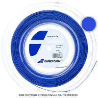 バボラ(Babolat) RPMパワー(RPM POWER) エレクトリックブルー 1.30mm/1.25mm 200mロール ポリエステルストリングス