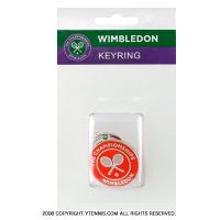 Wimbledon(ウィンブルドン) オフィシャル商品 キーリング ピンク 全英オープンテニス