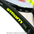 ★新品アウトレット★ウイルソン(Wilson) 2017年モデル スチーム 105 S 16x15 (289g) WRT73090U (STEAM 105 S) テニスラケットの画像3