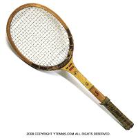スポルディング(SPALDING) ヴィンテージラケット DE LUXE COURT テニスラケット 木製 ウッドラケット