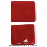 【ランドリー機能付】アディダスbyステラマッカートニー(adidas Stella McCartney) リストバンド レッド