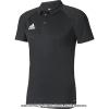 国内正規品 アディダス(Adidas) トレーニングポロシャツ ブラック/ダークグレー/ホワイト