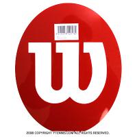 【テニスラケットにメーカーロゴを入れる型紙】ウイルソン(wilson)ロゴステンシルシート