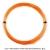【12mカット品】シグナムプロ(SIGNUM PRO) ポリプラズマ(Poly Plasma) 1.33mm/1.28mm/1.23mm/1.18mm ポリエステルストリングス オレンジ テニス ガット ノンパッケージの画像