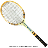 ヴィンテージラケット ウイルソン(WILSON) クリス・エバート アメリカンスター Chris Evert AMERICAN STAR 木製 テニスラケット