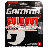 セール品 GAMMA ガンマ iO プロフェッショナル 17G ストリングス ガット シルバー パッケージ品