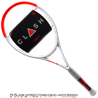 ウイルソン(Wilson) 2021年 クラッシュ 100L シルバー (280g) 16x19 (Clash 100 L Silver Edition Limited) WR077611 テニスラケット