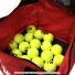 ウイルソン(Wilson) テニスボール 収納バッグ 150球収納可能 レッドの画像2