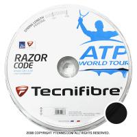 【旧パッケージ アウトレット】テクニファイバー(Tecnifiber) レーザーコード(Razor Code) 1.20mm 200mロール ポリエステルストリングス カーボン