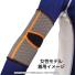 ★無地★wundou(ウンドウ)スポーツウェア エルボーサポーター P71 【XS〜XLサイズ】の画像2