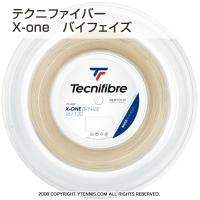 【新パッケージ】テクニファイバー(Tecnifiber) X-ONE バイフェイズ(biphase) ナチュラルカラー 1.24mm/1.30mm/1.34mm 200mロール ナイロンストリングス