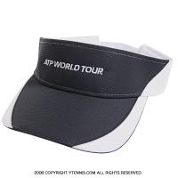 ATPワールドツアー オフィシャル商品 ラプター バイザー ネイビーブラック/ホワイト