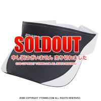 セール品 ATPワールドツアー オフィシャル商品 ラプター バイザー ネイビーブラック/ホワイト
