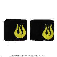 セール品 ソルファイアー(Solfire) 3 リストバンド ブラック/イエロー