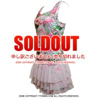 セール品 ロット(Lotto)Flamiflower テニスドレス 国内未発売モデル