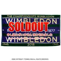 ウィンブルドン(Wimbledon) 2018年モデル オフィシャル商品 限定販売 チャンピオンシップタオル パープル 全英オープンテニス