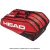 ヘッド(HEAD) 2019年モデル コア スーパーコンビ ラケット9本用 レッド/ブラック 国内未発売 テニスバッグ ラケットバッグ