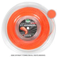 ゴーセン(GOSEN) エッグパワー(EGGPOWER / SIDEWINDER) オレンジ 1.22-1.24mm/1.30-1.32mm 200mロール (海外名サイドワインダー)