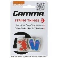 ガンマ(Gamma) ストリング・シングス バイブレーション ダンプナー カニ/ビーチサンダル