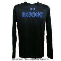 IMGアカデミー(ニック・ボロテリー テニスアカデミー) メンズ ロングTシャツ ブラック
