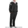 セール品 ラコステ(Lacoste) ウォームアップスーツ ブラック/ホワイト 国内未発売