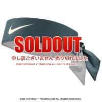 ナイキ(Nike)ドライフィット ヘッドタイ ロジャー・フェデラー USオープンシグネチャーモデル グリーン/ホワイト