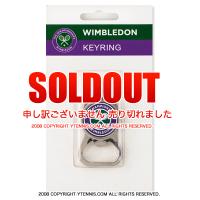 Wimbledon(ウィンブルドン)全英オープンテニス キーリングオフィシャル記念グッズ ボトルオープナー栓抜き
