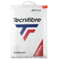 【新パッケージ】テクニファイバー(Tecnifibre) プロプレイヤーズ オーバーグリップテープ 12本パック ホワイト