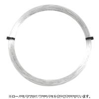 【12mカット品】ゴーセン(GOSEN) ポリロン(POLYLON) アイス(クリアカラー) 1.24mm/1.29mm ポリエステルストリングス テニス ガット ノンパッケージ