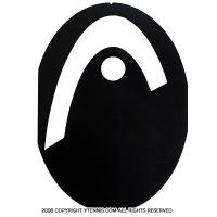 【テニスラケットにメーカーロゴを入れる型紙】ヘッド(HEAD)ロゴステンシルシート
