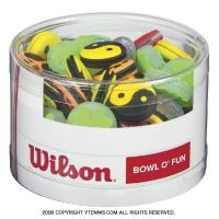 ウイルソン(Wilson) ボウル オ ファン 75個入り 振動止め ダンプナー WRZ537800