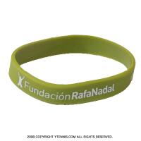 ラファエル・ナダルファウンデーション基金 限定 シリコンリストバンド