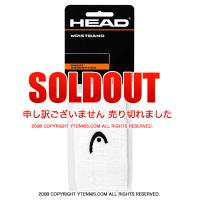 ヘッド(Head) 5インチ リストバンド ホワイト