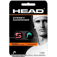 ヘッド(HEAD) ズベレフ ダンプナー 振動止め テニスラケット ブラック/ピンク/グリーン アレキサンダー・ズベレフ