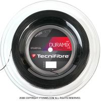 【旧パッケージ アウトレット】テクニファイバー(Tecnifiber) デュラミックス HD (DURAMIX HD) ブラック 1.30mm/1.25mm 200mロール ナイロンストリングス