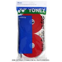 ヨネックス(YONEX) スーパーグリップ オーバーグリップ 30パック レッド
