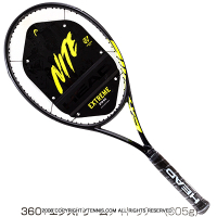 ヘッド(Head) 2021年モデル グラフィン360+ エクストリーム ナイト ツアー ブラック 限定モデル16x19 (305g) 233901 (Graphene 360+ Extreme NITE TOUR) テニスラケット