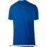ナイキ(Nike) 2017年秋冬 ロジャー・フェデラーシグネチャーモデル RFロゴ入り コートTシャツ ブルー Blue Jay/Black 国内未発売の画像2